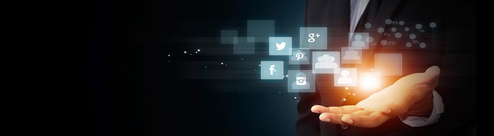 social media Slider