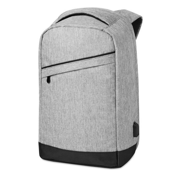 """Padded shoulder straps● with main internal compartment● USB charging cable● main zipped compartment at the back for better protection ● Fits most 15"""" laptops."""