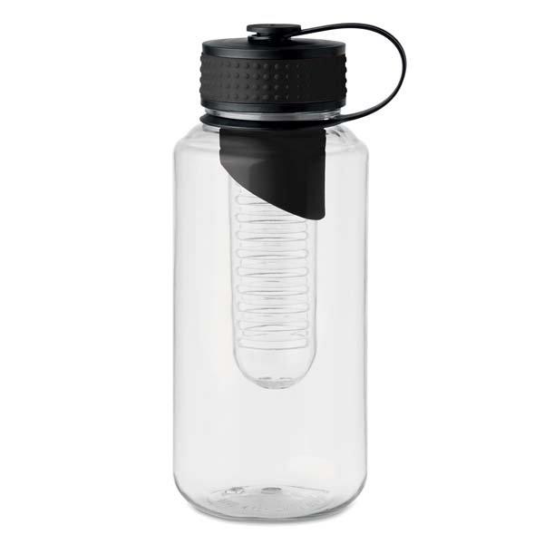 Tritan plastic water bottle ● with fruit infuser ● BPA free.