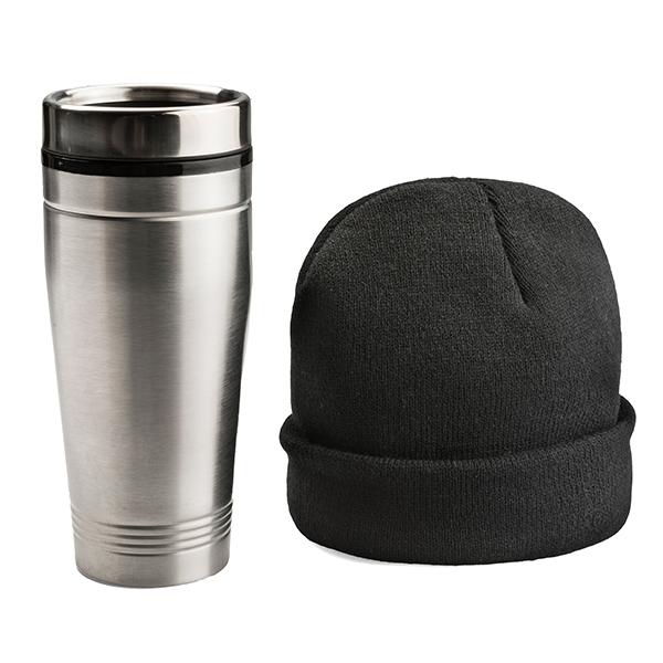 750ml mug ● a beanie ● packed in a white box.