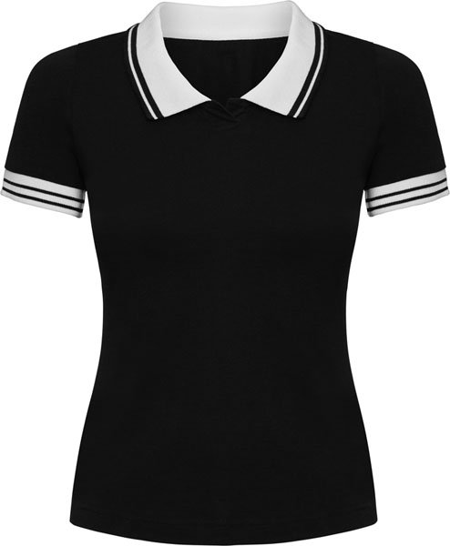 Short sleeve slim fit Polo shirt. No button mini-placket. Combined knitting collar and cuffs. Side vents with longer rear. Side seams.NO RETURNS! First come first serve