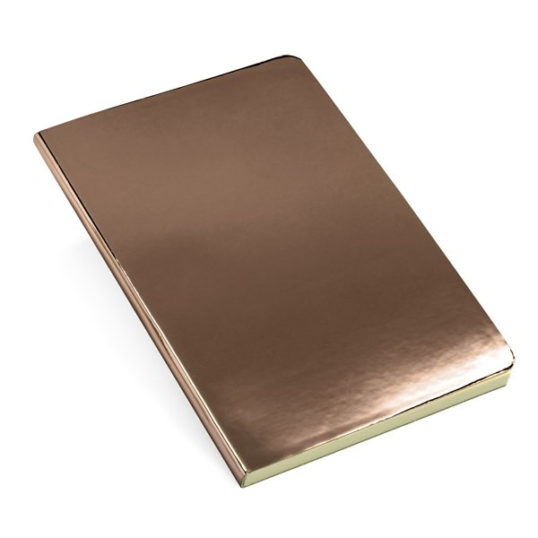 A5 notebook ● with shiny finish ● ± 160 lined pages.