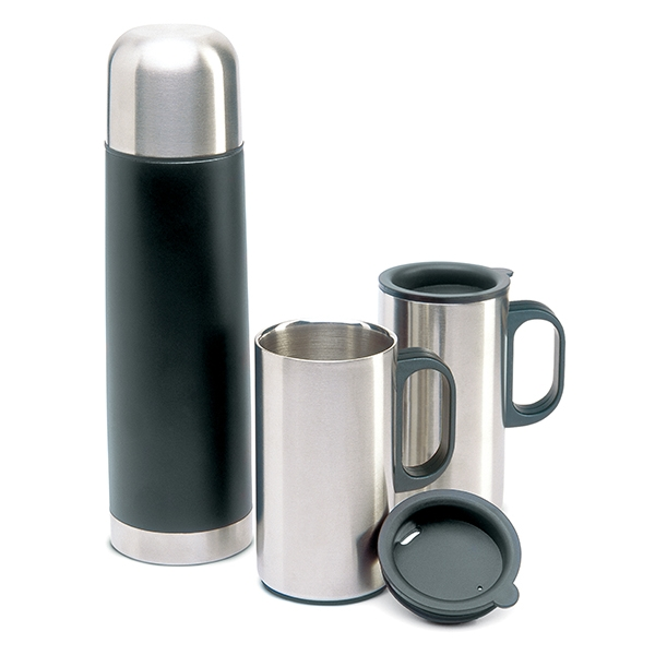 Double wall stainless steel insulating vacuum ● supplied in a black box.