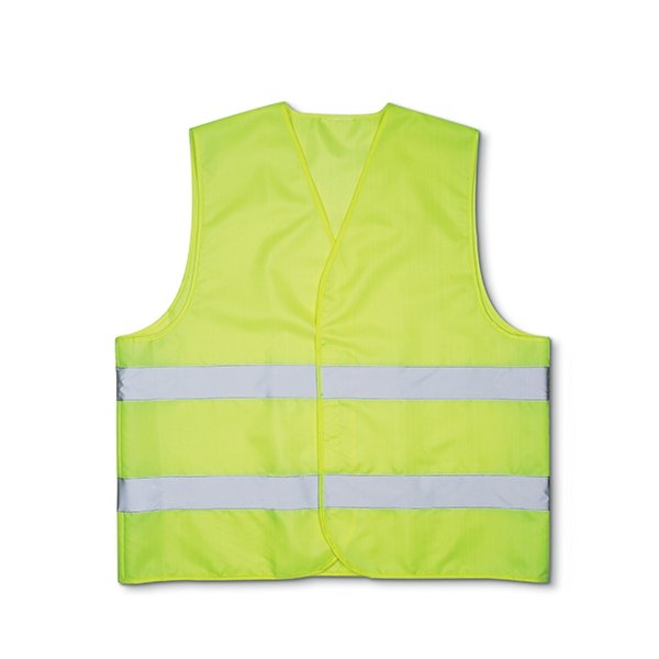 Comes with matching pouch ● 100% knitted polyester ● class 2 high visibility reflective tape.