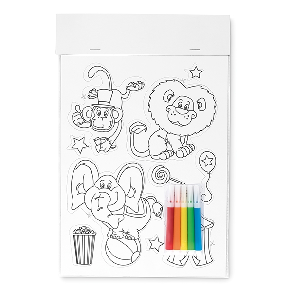 Magnetic sticker set ● markers NOT included.