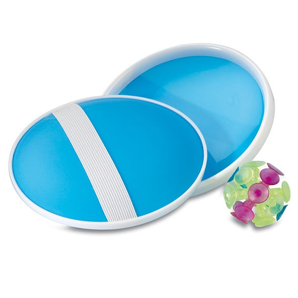 A catch game● one suction ball● two suction ball holders.
