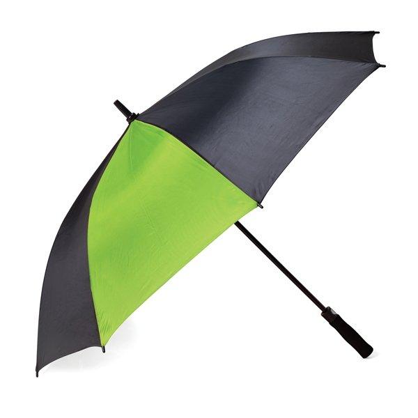 Classic pop-up umbrella ● with two tones ● one panel of umbrella has colour.