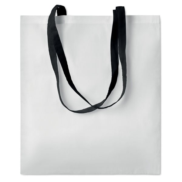Shopping bag ● with long handles.