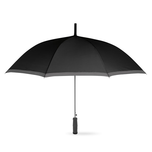 Auto open umbrella ● with zinc plating metal shaft