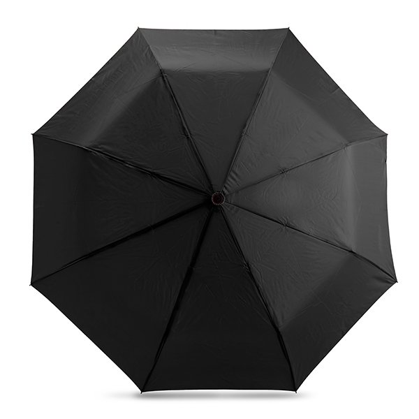 8 panel automatic pop-up function umbrella ● colour matching carry pouch ● rubber handle.